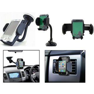 Premium Car Mobile Holder Mount Bracket Holder Stand 360 Degree Rotating