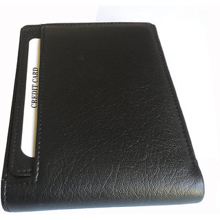 Ws Deal Mens Black Synthetic Leatherite Wallet (Bl306)