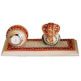 jaipurikala ganesh with  clock