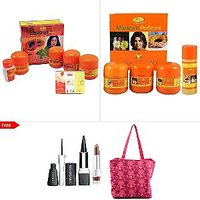 Natures Papaya Facial + Fruit Bleach + Manicure Pedicure Kit