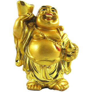 D SFeng shui laughing buddha for wealth and happiness
