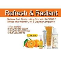 Refresh & Radiant Herbal Facial Scrub Kit