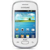 Samsung Galaxy Star S5282 (Ceramic White) With Free Screen Guard & Flip cover