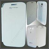 Flip Cover Micromax 116-white