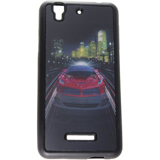 Fcs Rubberised Hard Back 3D Case For Micromax Yureka Yu In Matte Finish-Design 8 FCS3D-YUREKA-YU-8