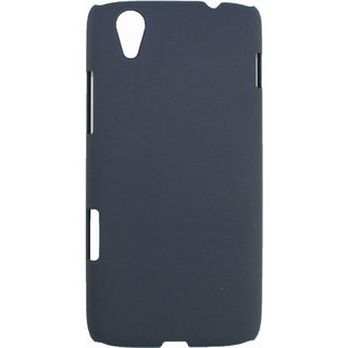 Fcs Ruberrised Hard Back Case For Lenovo Vibe X S960 In Matte Finish-Navy Blue FCSHB-LENOVO-VIBEX-NBL