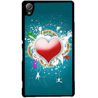Instyler Digital Printed Back Cover For Sony Xperia Z5SONYZ5DS-10048