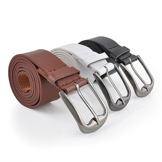 Pack Of 3 Formal Leatherite Belt For Men M.No Grhk3