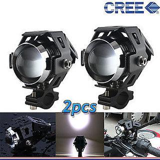 U5 CREE LED Lamp 15W Projector Lens Auxiliary Fog Light