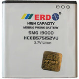 ERD BATTERY FOR SAMSUNG GALAXY S1 I9000 MOBILE -HCEB575152VU