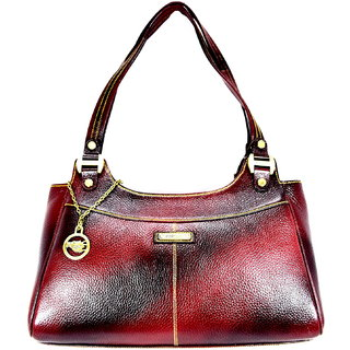 Moochies Anitque Maroon Genuine Leather Purse