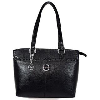 Moochies Black Genuine Leather Purse