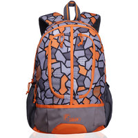 F Gear Dropsy 3D P Orange Casual Backpack
