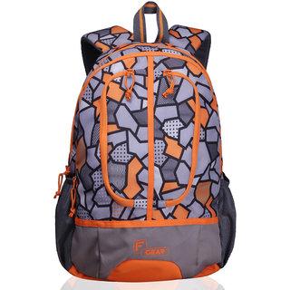 F Gear Dropsy 3D P Orange Casual Backpack