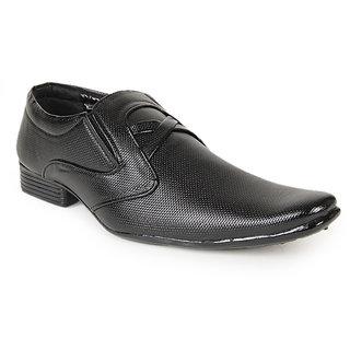 Foot 'n' Style Classy Black Slip-on Shoes (fs108)