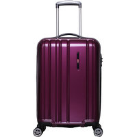 F Gear Kick off Polycarbonate 56 (cm) Maroon 4 Wheels Suitcase  Trolley