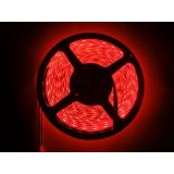100 Waterproof Cuttable Red 5m Roll 3528 Smd Led Strip Light Home Car Hotel En