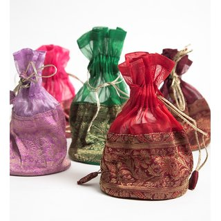 Gift Potli Tissue ( Set Of 3 )
