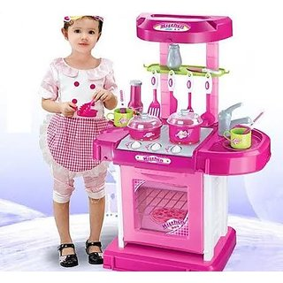 High Quality Kitchen Set With Light Sound