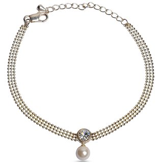 Pearl Drop Anklet  - The Awesome Anklet For Any Occassion :)