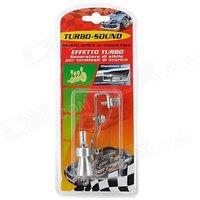 Turbo Sound Exhaust Muffler Pipe Whistle Blowoff Valve BOV Simulator Whistler.