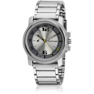 Fastrack Round Men Watches (3039SFD)