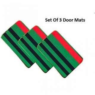 iLiv Set of 3 Green Doormat strips