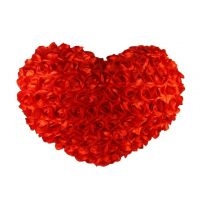 Deals India Red Rose Heart Soft Plush - 30 cm(heart1)