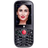 iBall Fab 2.4V8 Dual SIM Mobile Phone - Black and Blue
