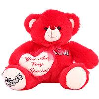DealBindaas Rose Bear Valentine Stuff Teddy 25 Cms
