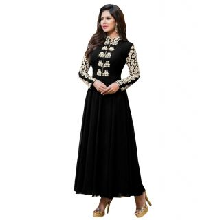 Bhavna creations black gown cum dress