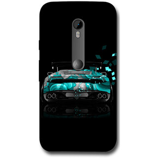 Cell First Designer Back Cover For Motorola Moto G (3rd Gen.)-Multi Color