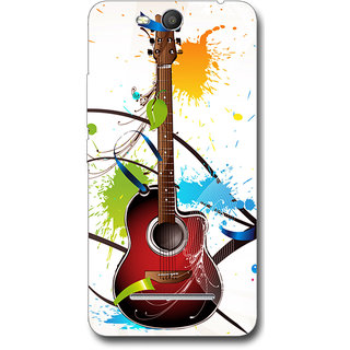 Cell First Designer Back Cover For MicromaxCanvasJuice 3Q392-Multi Color