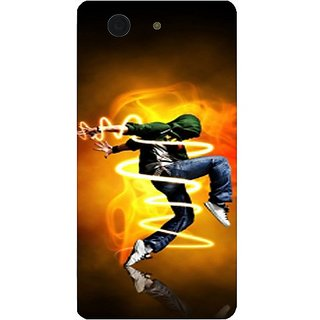Casotec Dance Music People Traffic Design Hard Back Case Cover for Sony Xperia Z3 Mini