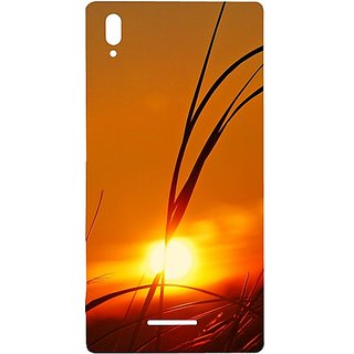 Casotec Moon View Design Hard Back Case Cover for Sony Xperia T3