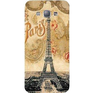 Casotec Vintage Paris Tower Design Hard Back Case Cover for Samsung Galaxy A8