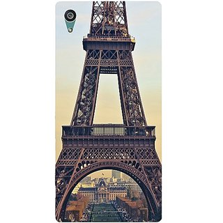 Casotec Eiffel Tower Design Hard Back Case Cover for Sony Xperia Z5 Dual