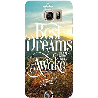 Casotec Dreams Design Hard Back Case Cover for Samsung Galaxy Note 5