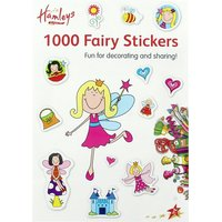 Hamleys A4 1000 Sticker Book Fairies