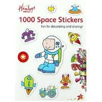 Hamleys A4 1000 Sticker Book Space