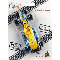 Hamleys F1 Racer 118 Yellow and Blue