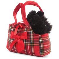 Hamleys Fancy Pal Scottie in Tartan Bag - 8 Inch