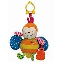K'S Kids Funky Stroller Pals - Rattling Ladybug