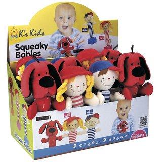 K's Kids Squeaky Babies Julia