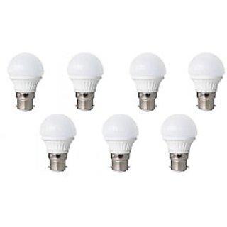 LED BULB 3W BRIGHT WHITE LIGHT LED BULB SAVING ENERGY 1 SET OF 7 PCS.