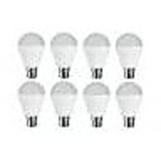 LED BULB 3W BRIGHT WHITE LIGHT LED BULB SAVING ENERGY 1 SET OF 8 PCS.