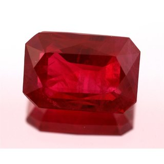 JAIPUR GEMSTONE 7.25 CRT Ruby(SUGGESTED) Red