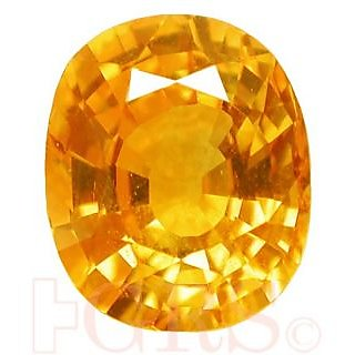 Jaipur Gemstone 7.25 CRT Yellow Sphhire (SUGGESTED) Yellow