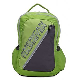 American Tourister Green Casual Polyester Backpack