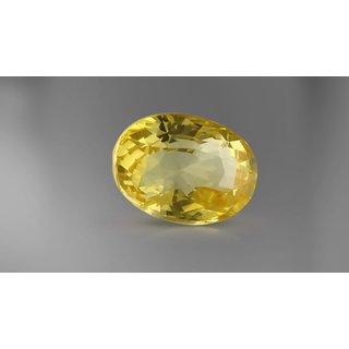 Jaipur Gemstone 5.25 ratti Yellow Sphhire (SUGGESTED) Yellow